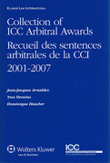 Cover of Collection of ICC Arbitral Awards 2001-2007