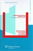 Cover of Harmonizing European Copyright Law: The Challenge of Better Lawmaking