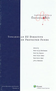 Cover of Towards An EU Directive on Protected Funds