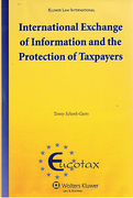 Cover of International Exchange of Information and the Protection of Taxpayers