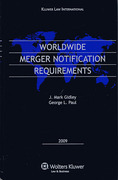 Cover of Worldwide Merger Notification Requirements