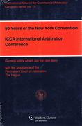 Cover of 50 Years of the New York Convention