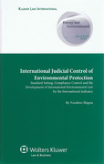Cover of International Judicial Control of Environmental Protection: Standard Setting, Compliance Control and the Development of International Environmental Law by the International Judiciary