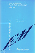 Cover of The <i>Ne Bis in Idem</i> Principle EU Law: Conceptual Jurisprudential