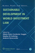 Cover of Sustainable Development in World Investment Law