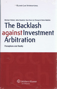 Cover of The Backlash Against Investment Arbitration: Perceptions and Reality