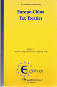 Cover of Europe-China Tax Treaties