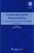 Cover of Corporate Social Responsibility: The Coporate Governance of the 21st Century