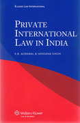 Cover of Private International Law in India
