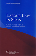 Cover of Labour Law in Spain