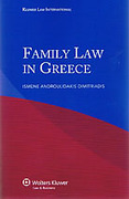 Cover of Family Law in Greece