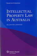 Cover of Intellectual Property Law in Australia