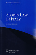 Cover of Sports Law in Italy