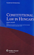 Cover of Constitutional Law in Hungary