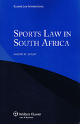 Cover of Sports Law in South Africa