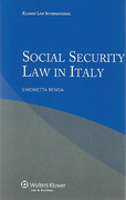 Cover of Social Security Law in Italy