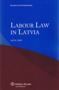 Cover of Labour Law in Latvia
