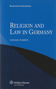Cover of Religion and Law in Germany