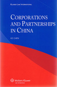 Cover of Corporations and Partnerships in China