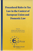 Cover of Procedural Rules in Tax Law in the Context of European Union and Domestic Law