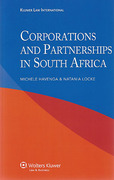 Cover of Corporations and Partnerships in South Africa