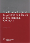 Cover of The Freshfields Guide to Arbitration Clauses in International Contracts