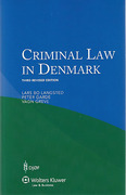 Cover of Criminal Law in Denmark