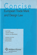 Cover of Concise European Trademark and Design Law