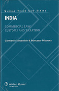 Cover of India: Commercial Law, Customs and Taxation