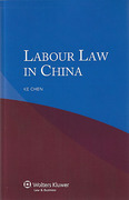 Cover of Labour Law in China