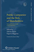 Cover of Public Companies and the Role of Shareholders: National Models Towards Global Integration