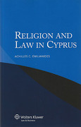Cover of Religion and the Law in Cyprus