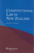 Cover of Constitutional Law in New Zealand