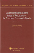 Cover of Merger Decisions and the Rules of Procedure of the European Community Courts