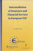 Cover of Intermediation of Insurance & Financial Services in European VAT