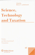 Cover of Science, Technology and Taxation
