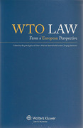 Cover of WTO Law: From a European Perspective