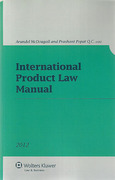 Cover of International Product Law Manual 2012