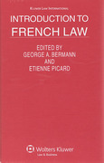 Cover of Introduction to French Law