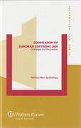 Cover of Codification of European Copyright Law: Challenges and Perspectives