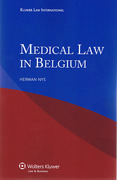 Cover of Medical Law in Belgium