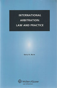 Cover of International Arbitration: Law and Practice