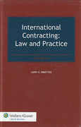 Cover of International Contracting: Law and Practice
