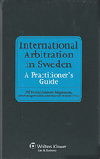 Cover of International Arbitration in Sweden: A Practitioner's Guide