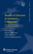 Cover of Boards of Directors in European Companies