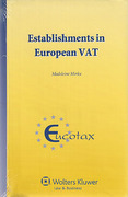 Cover of Fixed Establishments in European VAT
