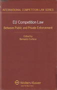 Cover of EU Competition Law: Between Public and Private Enforcement