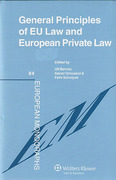 Cover of General Principles of EU Law eand European Private Law