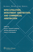 Cover of WTO Litigation, Investment and Commercial Arbitration