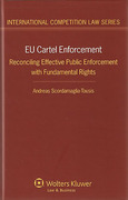 Cover of EU Cartel Enforcement: Reconciling Effective Public Enforcement with Fundamental Rights